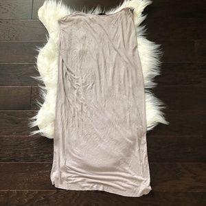 All Saints Dresses - [AllSaints] Cay Asymmetrical Raw Hem Dress